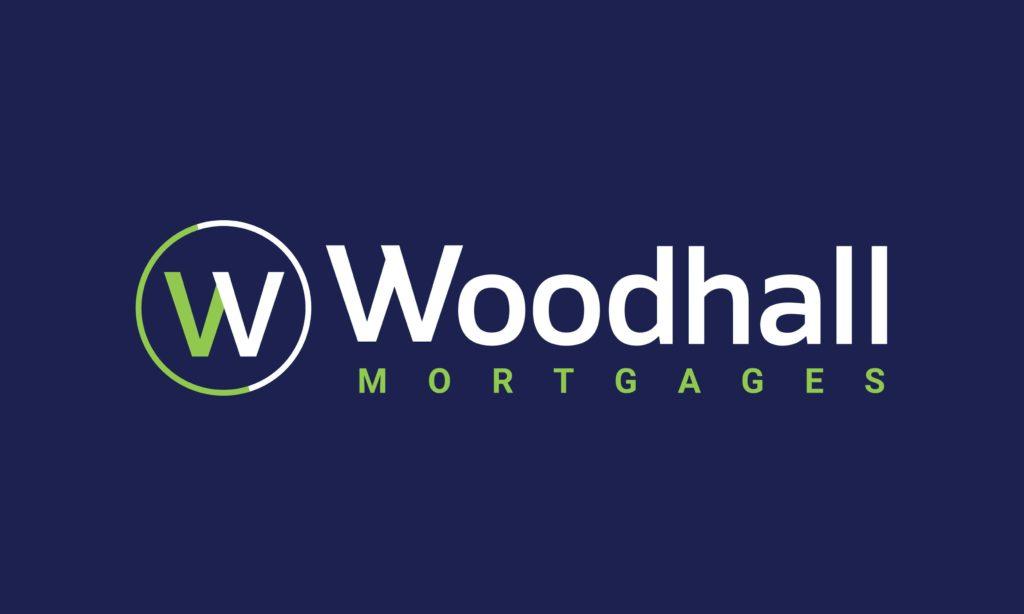 woodhall mortgages logo large blue