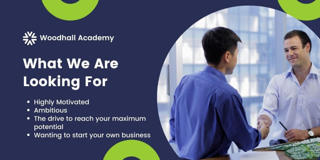 Woodhall Academy - what we are looking for